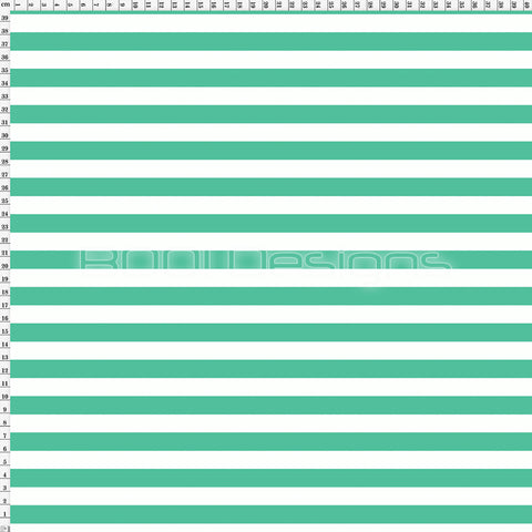 Spandex Stripes 14mm Candy Mint