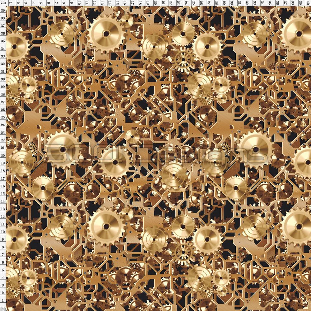 Spandex Cogs Gold