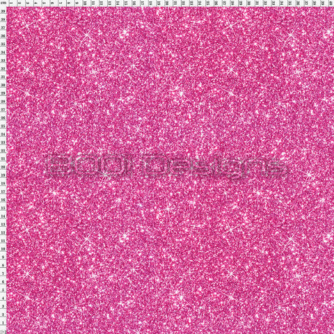 Spandex Printed Glitter Pink