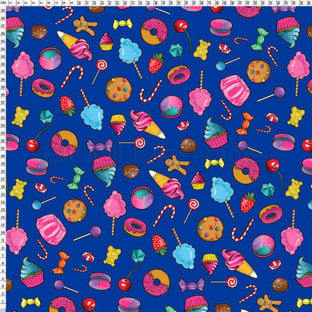 Spandex Candy Scatter Royal