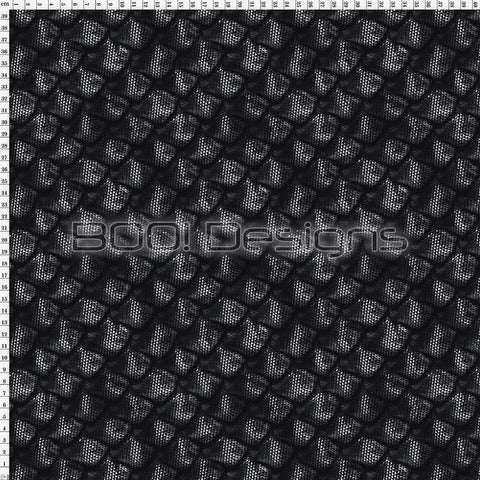 Spandex Scales Black
