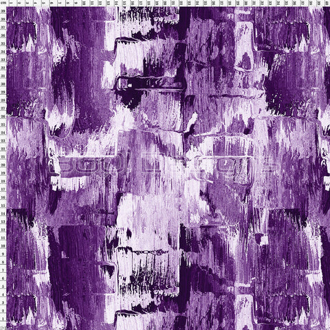 Spandex Brush Strokes Purple