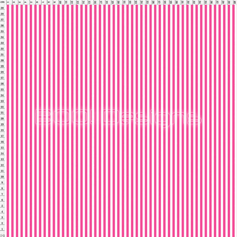Spandex Stripes 4mm Warrior Pink