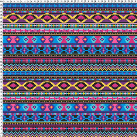 Spandex Aztec Purple