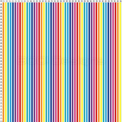 Spandex Stripes Rainbow