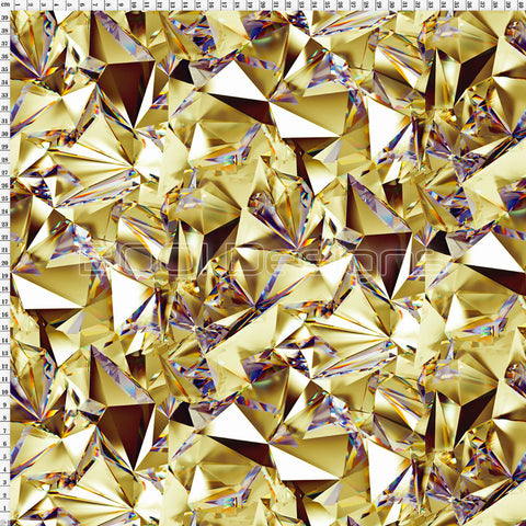 Spandex Crystal Maze Gold