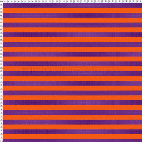 Spandex Foxy Stripe Orange