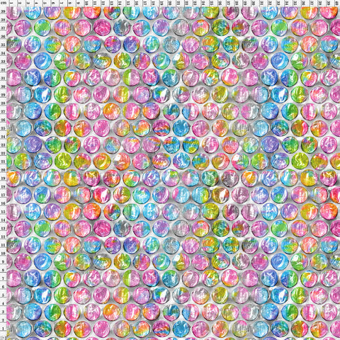 Spandex Bubble Wrap Pastel