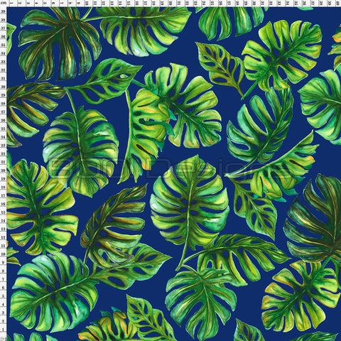 Spandex Zed Monstera Navy