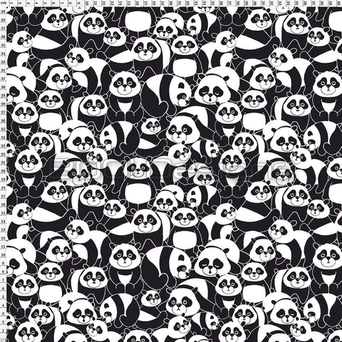 Spandex Panda Allover