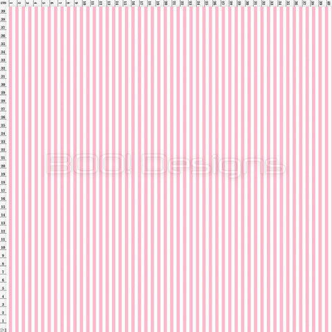 Spandex Stripes 4mm Soft Pink