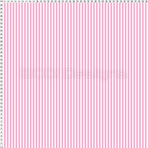 Spandex Stripes 4mm Light Pink