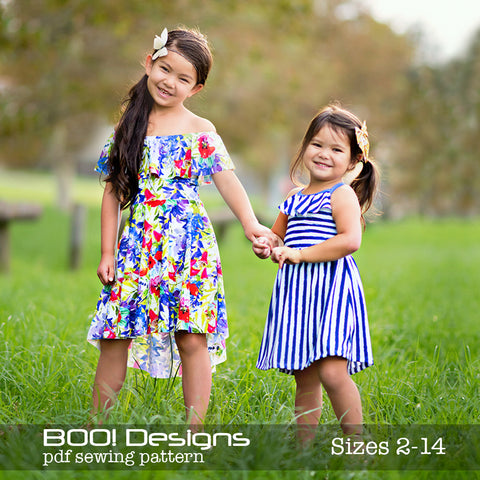 PDF Pattern: Flounce Dress