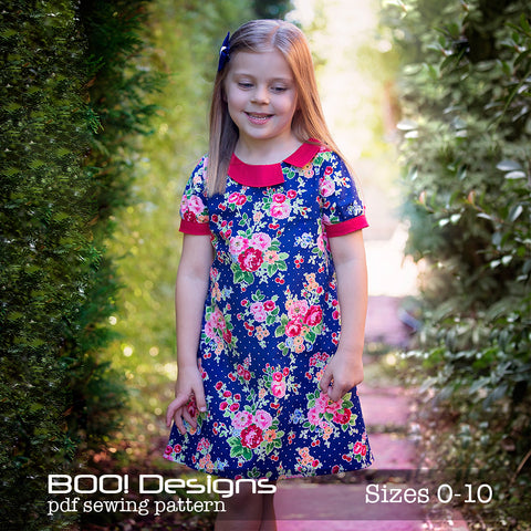 PDF Pattern: Gallery Dress