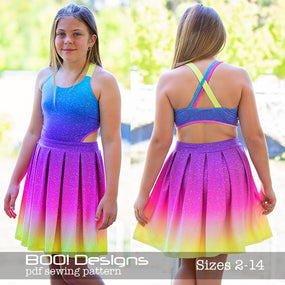 PDF Pattern: Illusion Dress