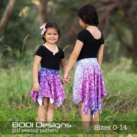 PDF Pattern: Pixie Skirt