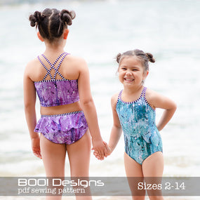 PDF Pattern: Twin Swim