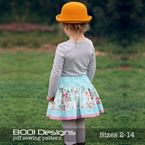 PDF Pattern: Twirly Skirt