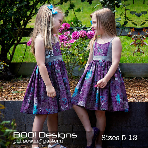 PDF Pattern: Zip It! Dress