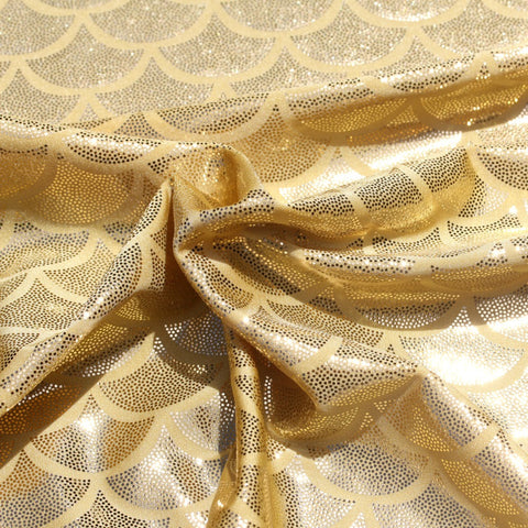 Spandex Mermaid Gold