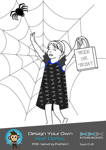 PDF Pattern: Bat Dress