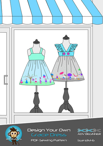 PDF Pattern: Grace Dress