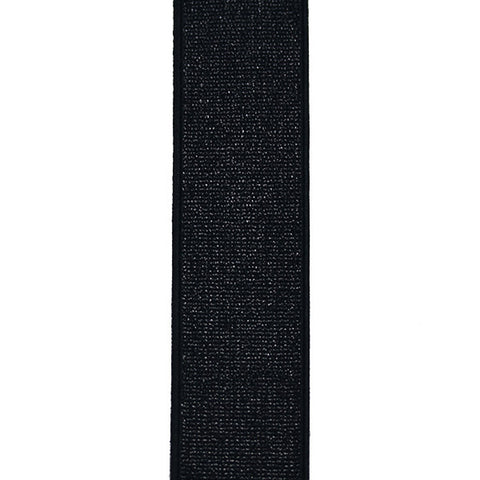 Waistband Elastic 40mm Glitter Black