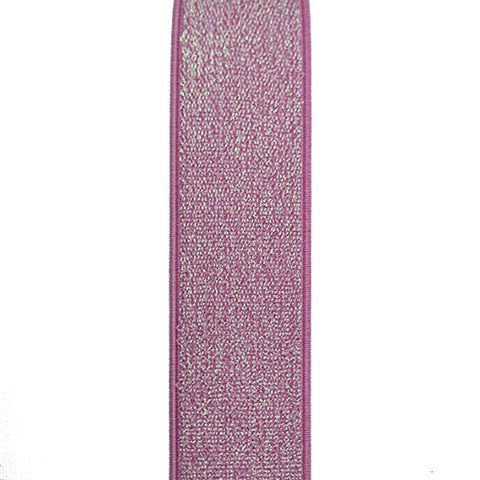 Waistband Elastic 40mm Glitter Light Pink