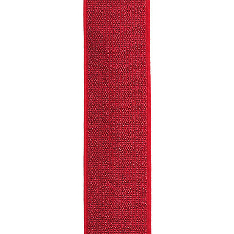 Waistband Elastic 40mm Glitter Red