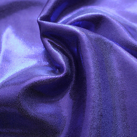 Spandex Metallic Purple