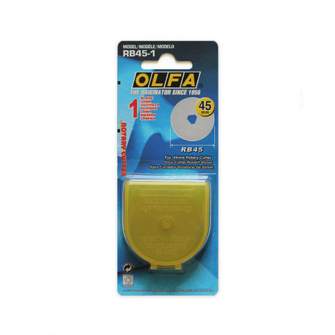 Olfa Rotary Cutter 45mm Replacement Blade Pack