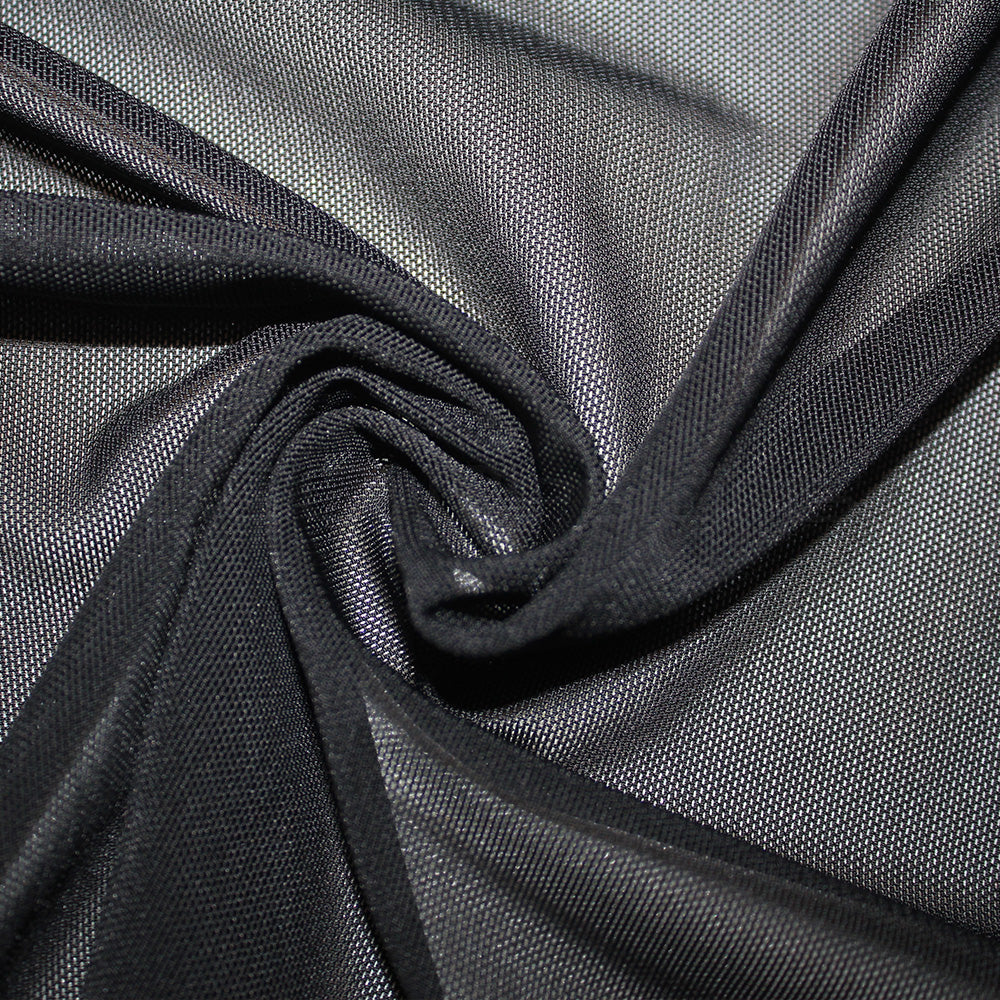 Spandex Power Mesh Heavy Weight Black
