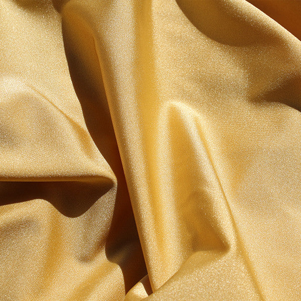 Spandex Solids Gold (shiny)