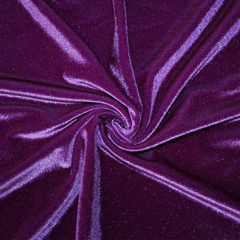 Spandex Luxe Velvet Grape