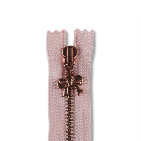 18cm Zip Copper Bow Cameo 364