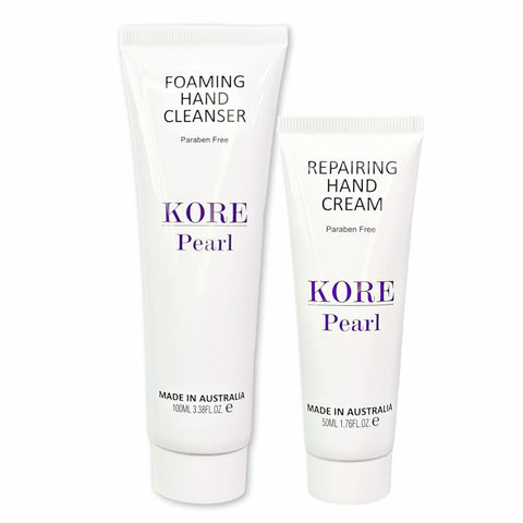 KORE Pearl Hand and Skin Repairing Duo
