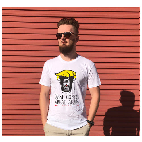 Make coffee great again shirt