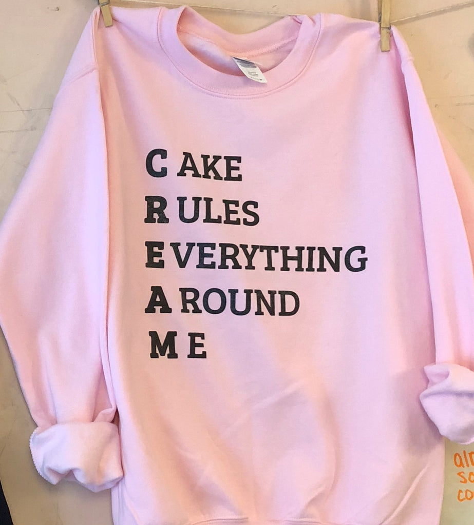 Cake rules everything around me