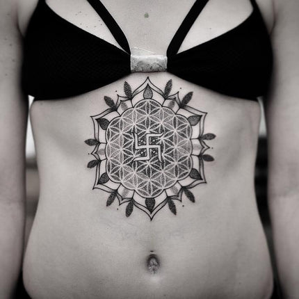 Sternum Tattoo