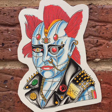 Cyborg Tattoo Flash