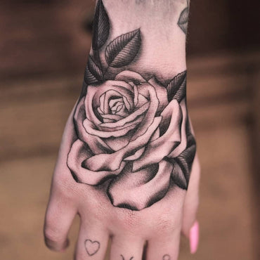 Hand Tattoo by Lachie Grenfell