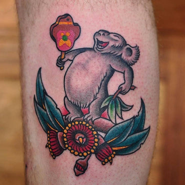 Blinky Bill Tattoo By Mark Lording