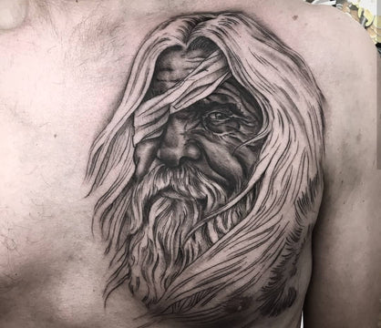 Norse God Odin Tattoo