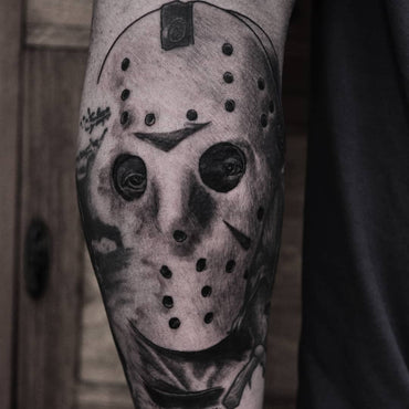 Friday The 13th - Jason Voorhees tattoo