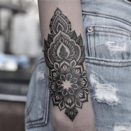 Wrist Mandala Tattoo By Chris Jones