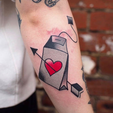 The perfect Tattoo for any Tea Enthusiast