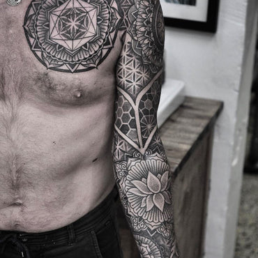 62395205b3a89 Geometric Tattoo Artists in Melbourne | Vic Market Tattoo