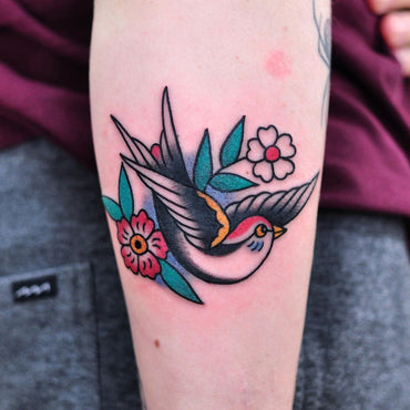 Classic Sailor Jerry Tattoo By Lachie Grenfell