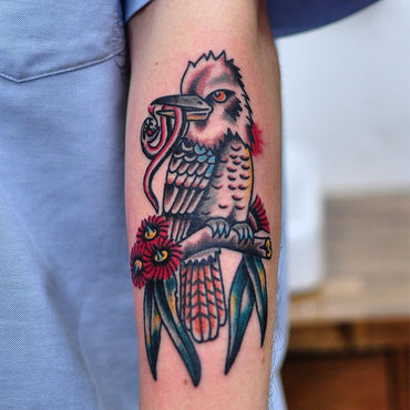 Kookaburra Tattoo by Mark Lording