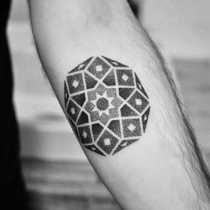 Perfect Mandala Tattoo By Melbourne Tattooer Chris Jones